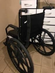 Cadeira de rodas nova com nota fiscal e garantia