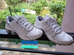Nike Shox NZ Branco Original N° 37