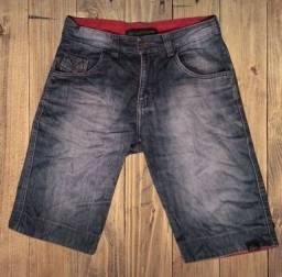 Bermuda jeans Lacoste Masculina