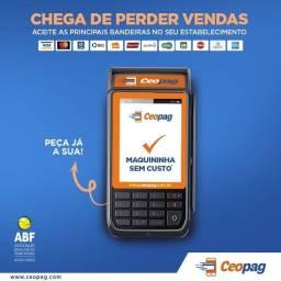 Máquina CEOPAG com parceria com a PAGUE SEGURO
