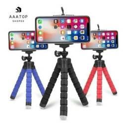 Suporte telefone flexível para vídeo fotos