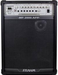 Caixa de Som Frahm Mp 2000 Amplificada