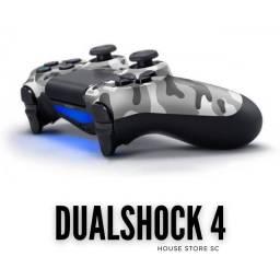 Controle Ps4 Dualshock - Camouflage Grau