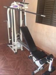 Estação de musculação athletic way 2001