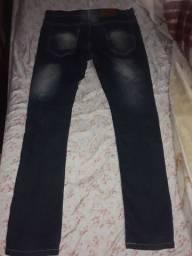 Calça jeans masculina usada numero 42 em perfeito estado
