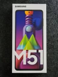 Samsung Galaxy M51 128gb (lacrado e com nota)