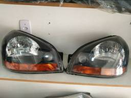 Farol Hyundai Tucson 2006 a 2016 Máscara Negra Original