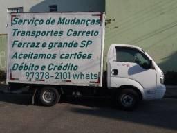 Mudanças Carreto e Frete 97378.2101 Whats Ferraz de Vasconcelos e Grande SP