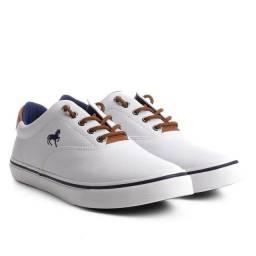 Tenis polo wear branco tamanho 41