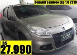 Título do anúncio: Renault Sandero Exp 1.0 2013