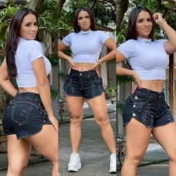 Título do anúncio: Short Black Jeans - Veste super bem Tam.38/40