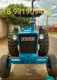 Vendo Trator Ford 6600 ano 84