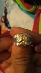 Anel de prata número 24. Aceito pix