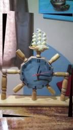 Relógio CriArteDecor Veleiro