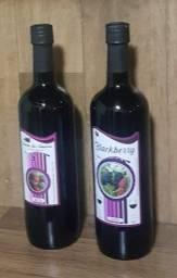 Vinho de Amora orgânica