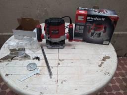 Tupia Elétrica Einhell TC-RO 1155 1100W Preta E Vermelha ? 110 V -