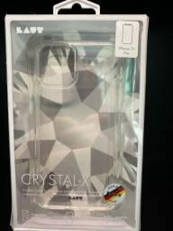 Capa para iPhone 11 Pro Crystal-X de Vidro e TPU Transparente - Laut