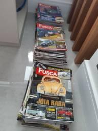 Coleção de Revistas Fusca e Cia num 1 ao num 151