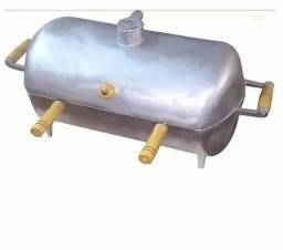 Churrasqueira Grande A Bafo Em Alumínio Fundido ( a partir de 5 unidades)