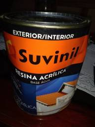 Resina Acrílica Suvinil 3,6l - Base de Água