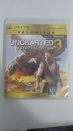 Jogo uncharted 3 ps3
