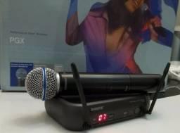 Microfone Shure Pgx PGX24 Beta58A - Sem Fio