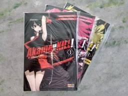 Mangá Akame ga Kill! Vol. 1 à 3