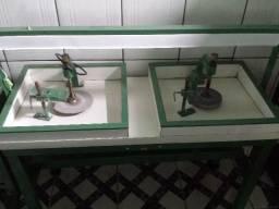 Oficina de Lapidação de Pedras Preciosas - Completa - Maquinas Semi Novas