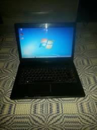 Notebook dual core 4gb 500 hd