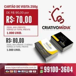 Gráfica Criativo Mídia - Cartão de Visita