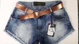 Shorts Jeans Dellu?s Deluxe Com cinto