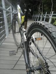 Bicicleta fischer full suspension