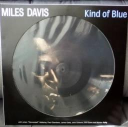 Lp Miles Davis - Kind Of Blue Picture Disc 180g Novo