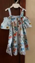 Vestido Infantil Zara Girls