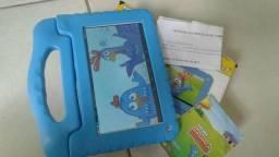 """Tablet de 7"""" Da galinha pintadinha vai 4 DVDS completos"""