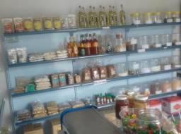 Vendo loja montada, biscoiteria com toda a mobilia e oque tiver de produtos