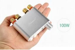 Usado, Amplificador de som Mini Nobsound NS10-g 100watts 2x50rms Bluetooth,Aux,Usb comprar usado  Olinda