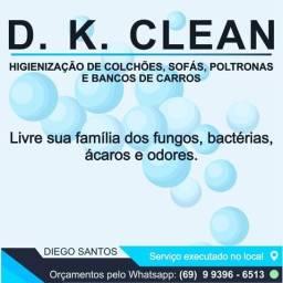 Higienização ou lavagem a seco