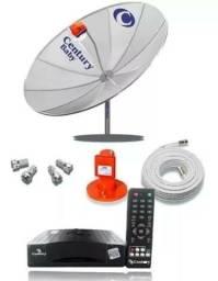 Vendo Antena parabólica century semi novo com apenas 5 meses de uso