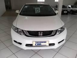 Honda Civic Lxr 2.0 modelo 2015,automatico,couro,camera de ré - 2015