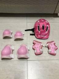 Acessórios de proteção para patinação