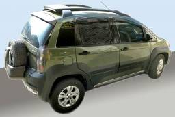 Fiat Idea Adventure 1.8 16v 2013 verde Flex
