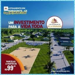Loteamento Villa Dourados( Invista agora)