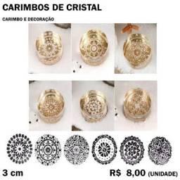 Carimbo de Cristal Tribal