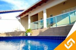Belíssima casa c/3 quartos, c/hidro e piscina aquecida em Caldas Novas. Cód 1016