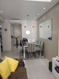 Apartamento com 1 dormitório na quadra da praia do Gonzaguinha -- São Vicente/SP