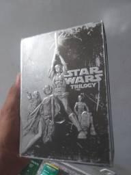 Star wars trilogia para colecionador