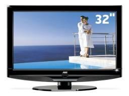 """Tv AOC lcd 32"""" modelo L32W831, vai com conversor digital e antena interna."""
