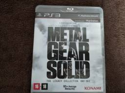 Metal Gear the legacy Collection e Final Fantasy 13 PS3.