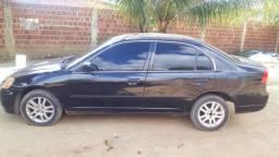 Vendo Honda civic 2002 valor 8500